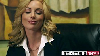 Kayden kross - hawt golden-haired boss wishes her bawdy cleft licked at work - digital playground