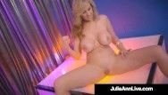 Hawt stripper mommy breasty milf julia ann finger copulates after stripping