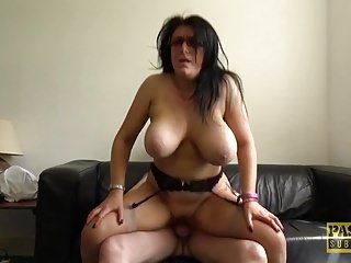 Breasty older sabrina jade enjoys to be stuffed roughly