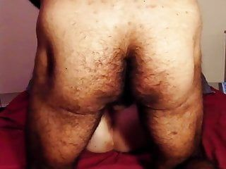 Hirsute non-professional wife real routine missionary nightly housewife
