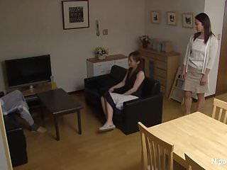 Oriental milf acquires pumped hard whilst her ally tapes it