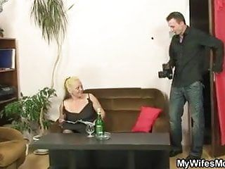 Stripped photosession and sex with not mother-in-law