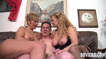 German milfs engulf and fuck a hard pecker