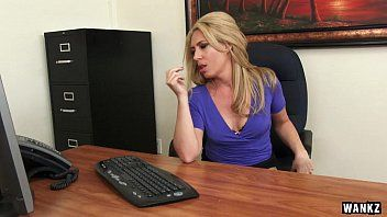 Hot milf boss stevie lix seduces youthful employee