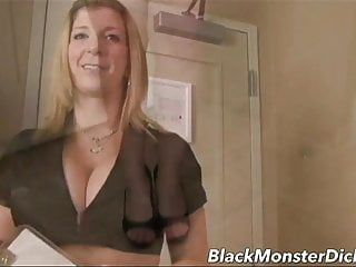 Large boob sara jay double fucked with darksome dick