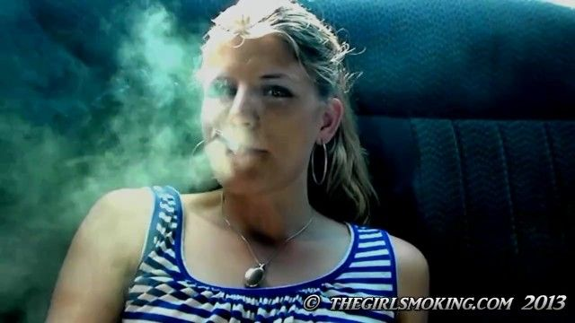 Free cutie smokin cigarette movie scene marlboro red 100-thegirlsmoking.