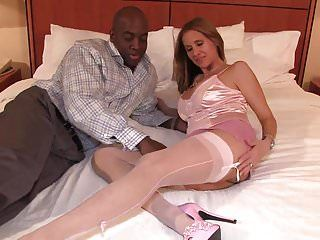 Sexy underware latin milf interracial fuck