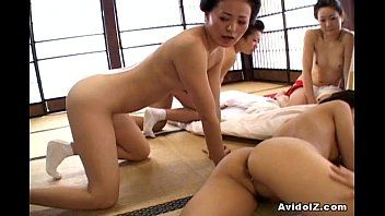 Japaneses with large mambos and love muffins screwed uncensored japanese movie scene