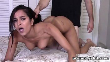 Propertyslut- sexy milf screwed hard by home inspector