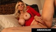 See bare mommy julia ann give u joi that will bust your nut step son