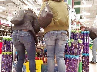 Youthful milfs with priceless butts