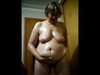 Granny undressed