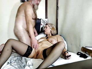 Most excellent orgasms of older married wench during the second wave