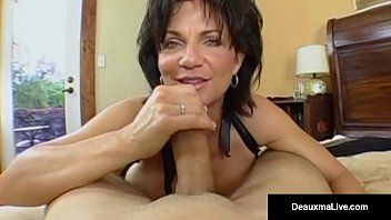 Aged milf, deauxma, has chap toy over for unfathomable arse banging