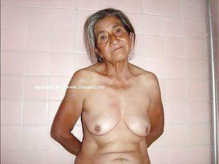 Omageil foto della nonna con corpi più anziani esposti