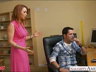 Firm bodied redhead mama janet mason acquires screwed
