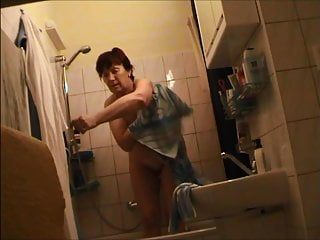 German granny naked in baths
