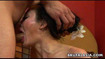 Oriental milf getting her gazoo aperture ravaged